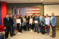 "AC Batumi ""Young Ambassadors"" trip to the U.S. Embassy"